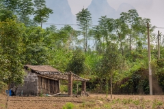 Yulong River farm shack