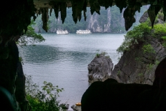 Cave entrance, Ha Long Bay