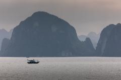 Fishing boat, Ha Long Bay