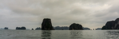 View from the kayak, Ha Long Bay