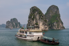 Cruising Ha Long Bay