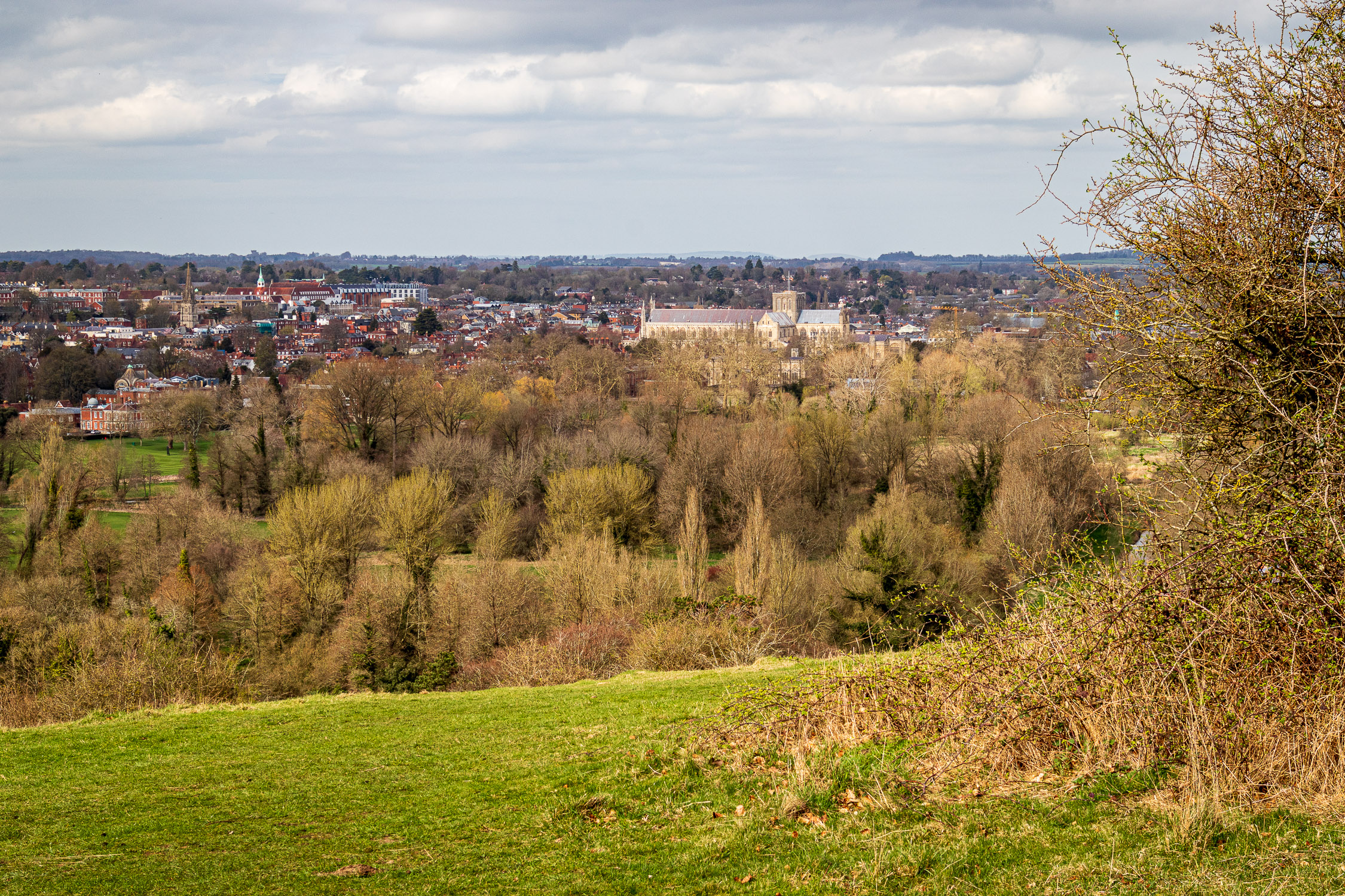 View from St. Catherine's Hill, Winchester