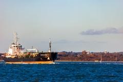 Ships on Southampton Water