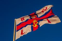 RNLI flag, Calshot