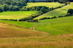 Patchwork fields, Ashmansworth
