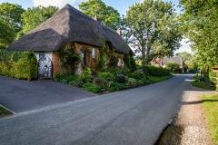 Longstock village