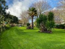 Southsea garden area