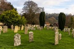 Hambledon churchyard