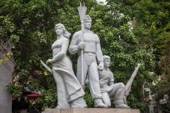 Communist-style statue, Hanoi