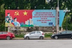 Political poster, Hanoi