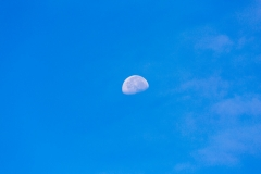 Kilauea moon