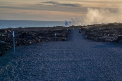 Road to the lava