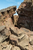 Pu'u Ō'ō lava flow fissure