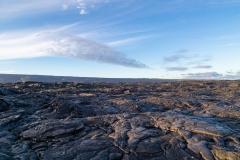 Kalapana lava fields