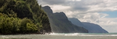 Na Pali Coast from Ke'e Beach