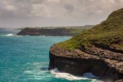 View east from Kilauea Point