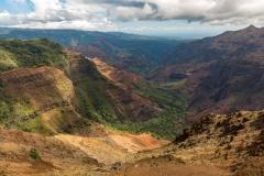 Waimea Canyon from Pu'u Hinahina Lookout