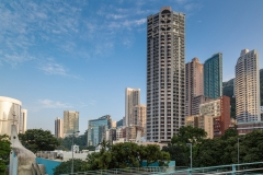 Hong Kong apartment blocks