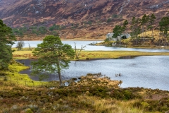 Affric Lodge and Loch Affric
