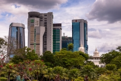 View from Masjid Negara