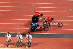 Mens 400m T53 final