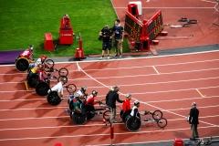 Men's 5000m T54 final