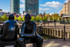 Canary Wharf sculpture
