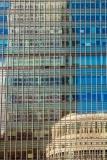 Heron Quays reflections