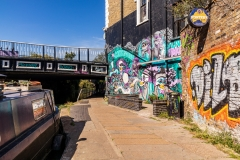 Regents Canal tow path, Camden