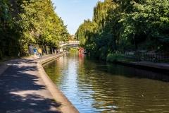 Regents Canal at Regents Park