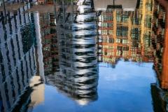 Paddington Basin reflections