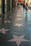 On the Hollywood Walk of Fame