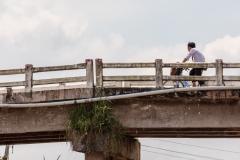 Mekong cyclist