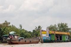 Mekong petrol station
