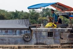 Mekong boatperson