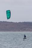 Para-waterskier on the Solent