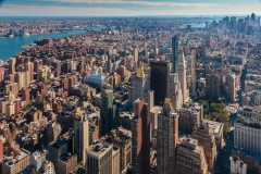 Lower Manhattan from Empire State