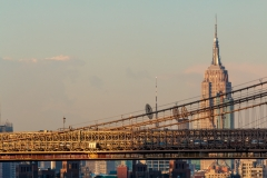 Brooklyn Bridge and Empire State