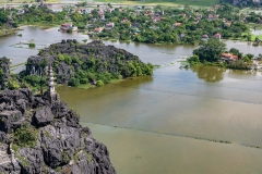Ninh Binh from Hang Mua viewpoint