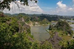Ninh Binh from Hang Mua viewpoint