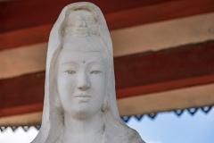 Female Buddha statue, Hang Mua pagoda