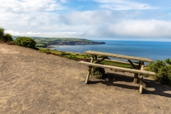 Bench with a view, near Ravenscar