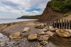 Ravenscar from Stoupe Beck Sands