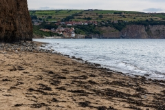 Robin Hood's Bay from Stoupe Beck Sands
