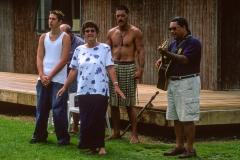 Maori welcome