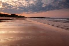 Summer sunset, Embleton Bay