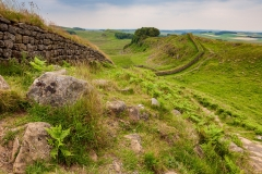 Hadrians Wall near Housesteads