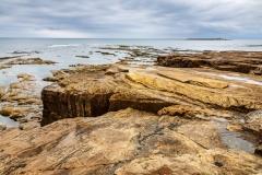 Rocks near Amble Harbour