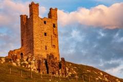 Evening Light, Dunstanburgh Castle