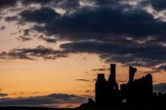 Sunset, Dunstanburgh Castle